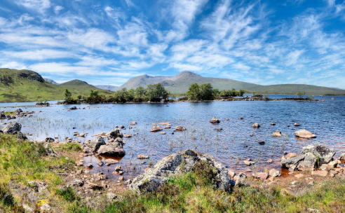 Rannoch Moor - Country and Western holiday